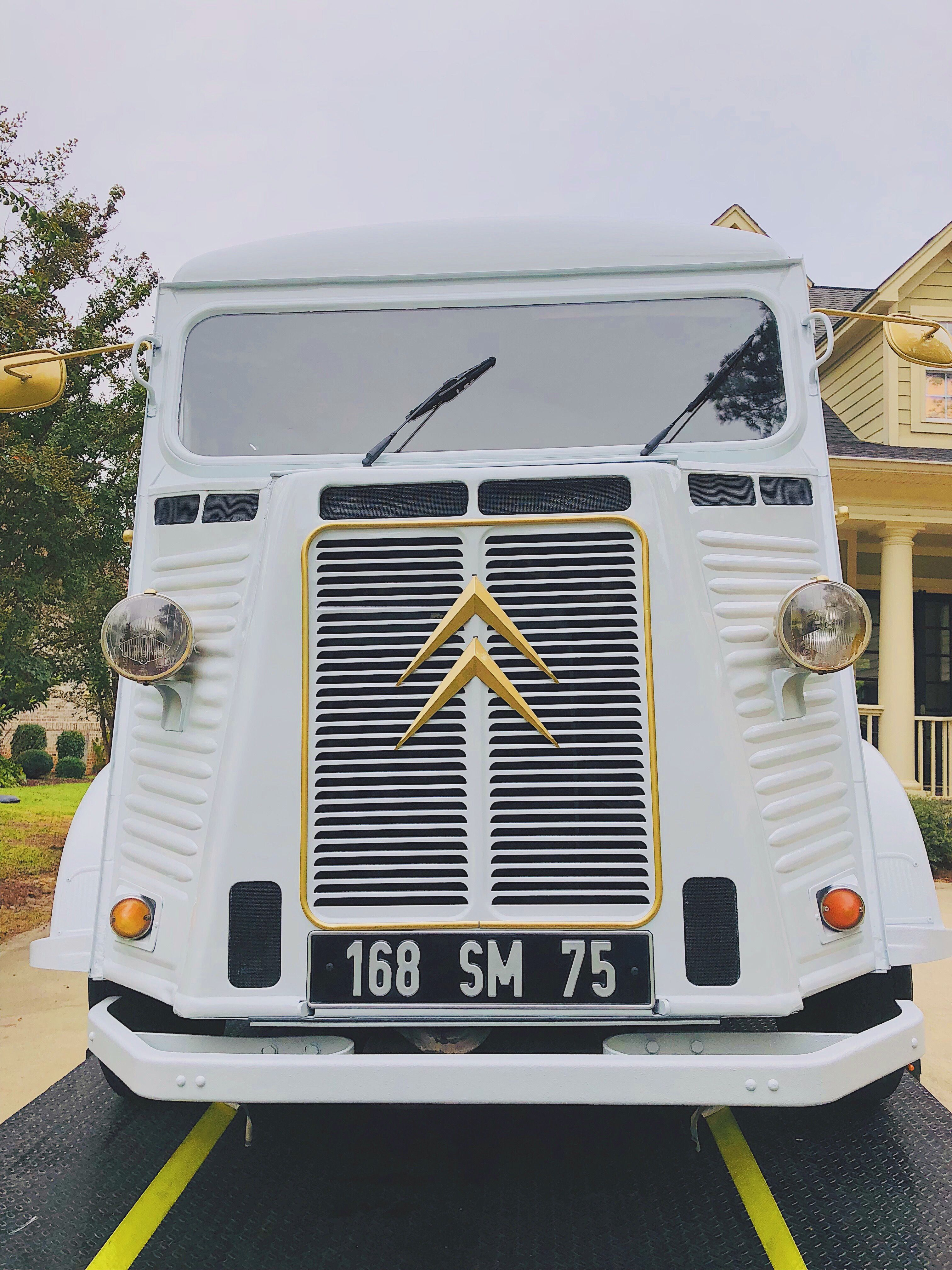 The Benton is a 1961 Citroën HY Van!